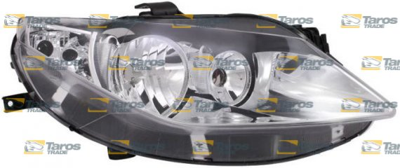 headlight for h7 h7 bulbs electrical silver without motor manufacturer tyc for seat ibiza 2008. Black Bedroom Furniture Sets. Home Design Ideas