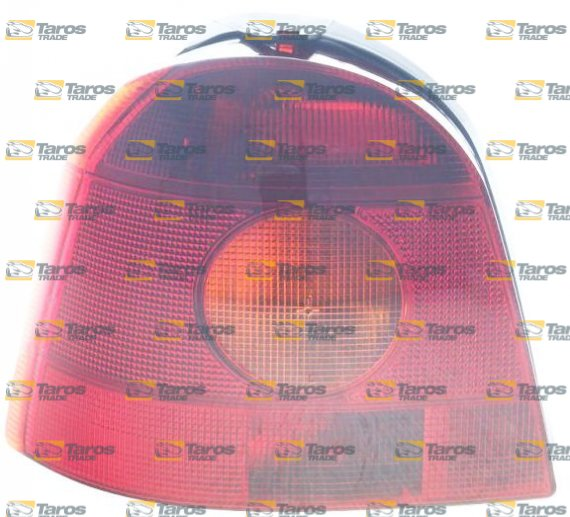 Tail Light With Rear Fog Light With Bulb Holder