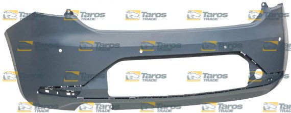 REAR BUMPER PRIMED WITH PARKING SENSOR HOLES FOR SEAT LEON 2013-