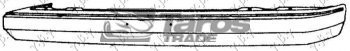 FRONT BUMPER FOR MAZDA 323 1980-1982