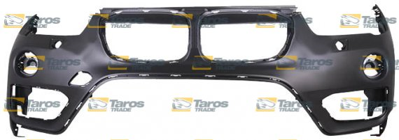 FRONT BUMPER PRIMED WITH PARKING SENSOR HOLES WITH WASHER HOLES FOR BMW X1  F48 2015-