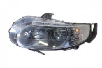 Oil Pans Saab >> HEADLIGHT ELECTRICAL BLACK WITH MOTOR VALEO FOR SAAB 9-5 2005-2010 LEFT