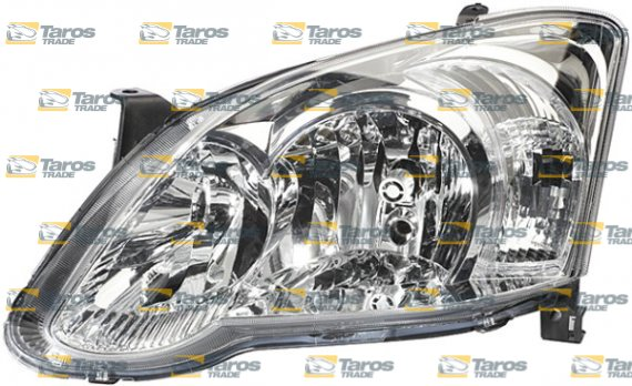 Headlight Electrical With Motor Valeo For Toyota Corolla Hatchback 2004 2006 Left
