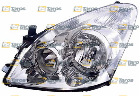 Headlight Electrical With Motor For Years 2007 2009 Toyota Corolla Verso 2004 Left