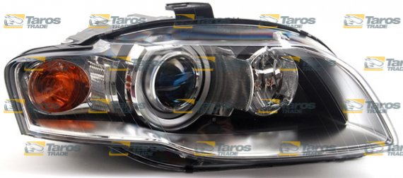 HEADLIGHT ELECTRICAL WITH YELLOW INDICATOR WITH MOTOR XENON ADAPTIVE - 2007 audi a4 headlights