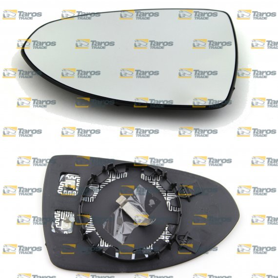 MIRROR GLASS HEATED FOR OPEL CORSA D 2006-2015 RIGHT