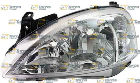 headlight electrical without motor for h7 h7 bulbs for years 2002 2004 valeo for opel corsa c. Black Bedroom Furniture Sets. Home Design Ideas