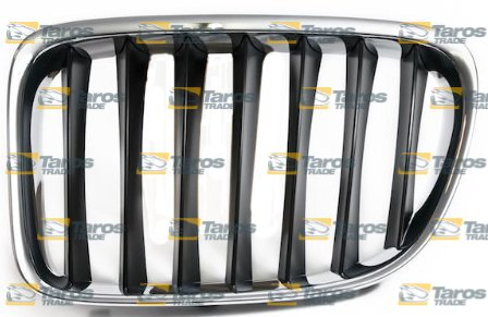GRILL CHROMED/BLACK FOR BMW JEEP X1 E84 2009.9- LEFT
