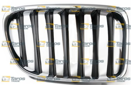 GRILL CHROMED/BLACK FOR BMW JEEP X1 E84 2009.9- RIGHT