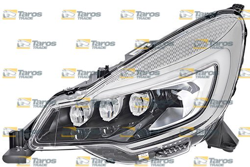 HEADLIGHT WITH LED DAYTIME RUNNING LIGHT FOR D8S BULB ELECTRICAL WITHOUT  MOTOR VALEO FOR CITROEN DS3 2016- LEFT