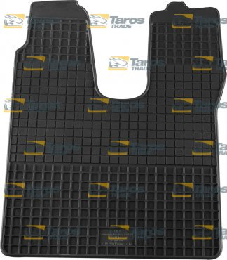 RUBBER FLOOR MAT PETEX BLACK 1 PCS FOR MAN TGX 2007-