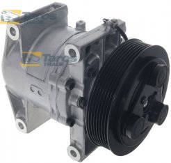 AC COMPRESSOR (NEW) CALSONIC TYPE: CR-14 BELT PULLEY DIAMETER (MM): 135 NUMBER OF RIBS: 7 FOR NISSAN NAVARA 2005-2010