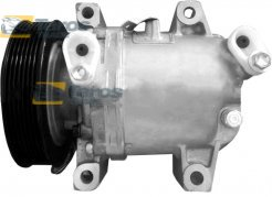 AC COMPRESSOR (NEW) CALSONIC TYPE: CR12S BELT PULLEY DIAMETER (MM): 110 NUMBER OF RIBS: 7 FOR NISSAN NAVARA 2005-2010