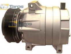 AC COMPRESSOR (NEW) DELPHI TYPE: HARRISON V8 BELT PULLEY DIAMETER (MM): 119 NUMBER OF RIBS: 7 FOR NISSAN INTERSTAR 1997-2010