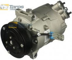 AC COMPRESSOR (NEW) SANDEN TYPE: PXV16 BELT PULLEY DIAMETER (MM): 110 NUMBER OF RIBS: 5 FOR SAAB 9-3 2002-2007