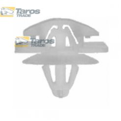 CLIP FOR MOULDINGS PACKING UNIT: 10 PCS DIMENSIONS ( A 27.1 X 21.2 ) MM FOR RENAULT CLIO 2001.7-2005.8