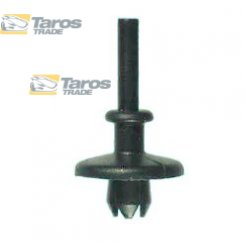 CLIP FOR REAR SHELF PACKING UNIT: 10 PCS DIMENSIONS ( A 18 B 6.5 C 3.5 D 3 H 7.5 ,Ø 6 ) MM FOR LANCIA YPSILON 2004.1-2011.6