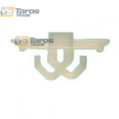 CLIP FOR DOOR MOULDINGS AND FENDERS FRONT PACKING UNIT: 10 PCS DIMENSIONS ( A 20.3 X 14 B 11 X 8 ) MM FOR AUDI 100 C4 1990-1994