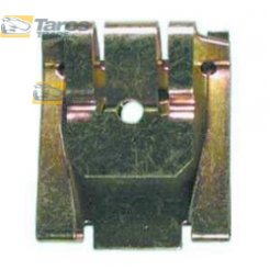 METAL FASTENER FOR UPHOLSTERIES AFTER 2000 PACKING UNIT: 10 PCS DIMENSIONS ( A 25.2 B 21.2 C 2 D 6.3 ) MM FOR AUDI A3 1996-2003