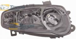 HEADLIGHT FOR H1/H7/H7 BULBS ELECTRICAL WITH SILVER FRAME WITHOUT MOTOR FOR YEARS 2000-2004 MANUFACTURER: TYC FOR ALFA ROMEO 147 2000.10-2010.5 RIGHT