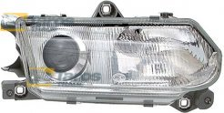 HEADLIGHT FOR H1/H1 BULBS MANUAL/ELECTRICAL WITHOUT MOTOR MANUFACTURER: TYC FOR ALFA ROMEO 145 1999.1-2000.12 RIGHT