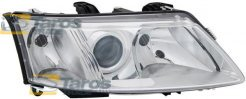 HEADLIGHT FOR H7/H7 BULBS ELECTRICAL WITH MOTOR MANUFACTURER: TYC FOR SAAB 9-3 2002-2007 RIGHT