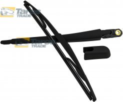 REAR WIPER ARM AND BLADE SET 350 MM FOR PEUGEOT 106 1996.6-2003.12