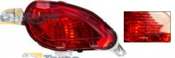REAR FOG LIGHT E-MARK DAMAGED FOR TOYOTA YARIS 2014- RIGHT