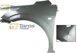 FRONT FENDER WITH INDICATOR HOLE DAMAGED FOR DAEWOO - CHEVROLET AVEO SDN/HATCHBACK 2012- LEFT