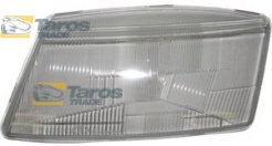 HEADLIGHT LENS WITH CLIPS WITH GASKET MANUFACTURER: TYC FOR SAAB 9-3 1998.2-2003.8 LEFT