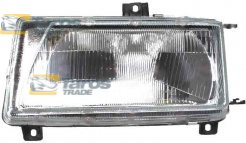 HEADLIGHT TYPE VALEO FOR H4 BULB MANUAL/ELECTRICAL WITH ADJUSTER MANUFACTURER: TYC FOR SEAT INCA 1995-2003 LEFT