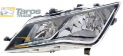 HEADLIGHT ELECTRICAL WITH MOTOR VALEO FOR SEAT LEON 2013- LEFT