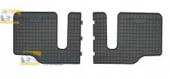 RUBBER FLOOR MATS FROGUM FOR MAZDA 5 2005.4-2010