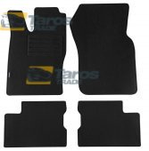 CARPET FLOOR MATS PETEX REX FABRIC BLACK 4 PCS FOR OPEL ASTRA F 1991.9-1994.8