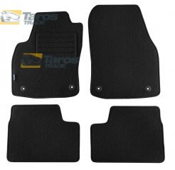 CARPET FLOOR MATS PETEX REX FABRIC BLACK 4 PCS FOR OPEL ASTRA H 2003.10-