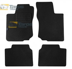CARPET FLOOR MATS PETEX REX FABRIC BLACK 4 PCS FOR OPEL CORSA B 1993-1995