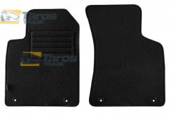 CARPET FLOOR MATS PETEX REX FABRIC BLACK 2 PCS FOR AUDI TT 1998-2006