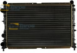 RADIATOR DIMENSIONS 558X377X34 ALUMINIUM MECHANICAL CORE, PLASTIC TANK FOR ALFA ROMEO 155 1992.1-1997.11