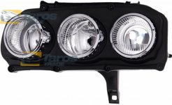 HEADLIGHT FOR H7/H7 BULBS ELECTRICAL WITH MOTOR MANUFACTURER: TYC FOR ALFA ROMEO BRERA 2006- LEFT