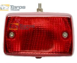 REAR FOG LIGHT WIDTH 140 MM HEIGHT 75 MM 12/24V P21W RED WITHOUT HARNESS FOR FIAT 126 1972.9- LEFT
