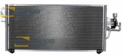 AC CONDENSER CONDENSER WITHOUT RECEIVER DRYER FOR MITSUBISHI COLT 1999-2005