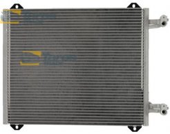 AC CONDENSER 510(470)X410X16 WITHOUT FILTER DRYER FOR AUDI A2 2000-2005