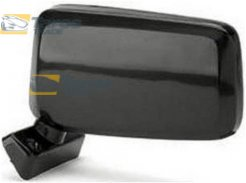 DOOR MIRROR BLACK FOR NISSAN PICKUP 720 1984-1985 LEFT