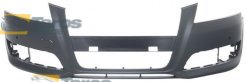 FRONT BUMPER PRIMED WITH PARKING SENSOR HOLES ASIA FOR AUDI A3 2008.4-