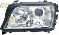 HEADLIGHT MANUAL/ELECTRICAL WITHOUT MOTOR FOR H1/H1 BULBS FOR AUDI A6 1994-1998 LEFT