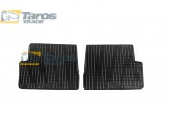 RUBBER FLOOR MATS BLACK 2 PCS FOR MAZDA 3 2003-2009