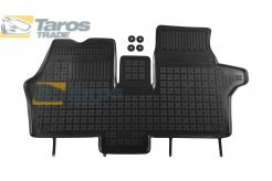 RUBBER FLOOR MAT REZAW-PLAST BLACK 1 PCS FOR MERCEDES VITO / VIANO / V-CLASS 1996.2-2003.1