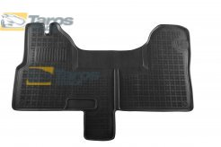RUBBER FLOOR MAT REZAW-PLAST BLACK 1 PCS FOR IVECO DAILY 2006.5-