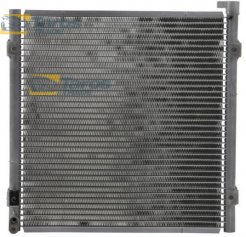 AC CONDENSER 380X355X16 CONDENSER WITHOUT RECEIVER DRYER FOR HONDA CIVIC HATCHBACK 1999.1-2001.7