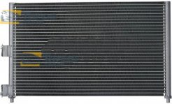 AC CONDENSER 535(495)X310X16 CONDENSER WITHOUT RECEIVER DRYER FOR LANCIA MUSA 2004.6-2012.10